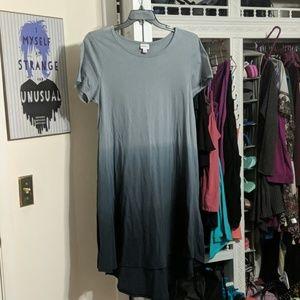 "Lularoe ""Carly"" Ombre Dress Size Medium"